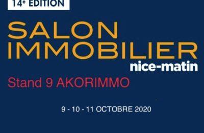Salon de l'immobilier NICE 9-11 octobre 2020