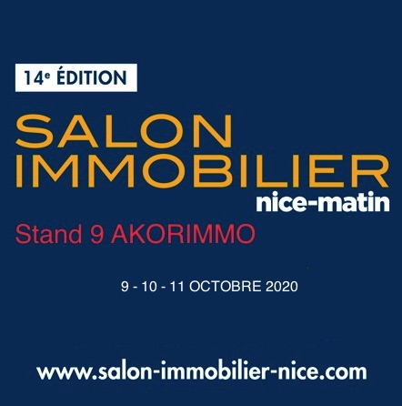 Salon de l'immobilier NICE 9-11 octobre 2020